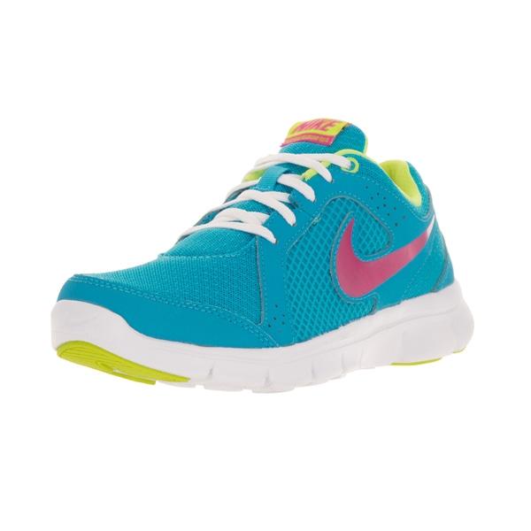 Nike Kids Flex Experience (GS) Blue/Pink Running Shoes