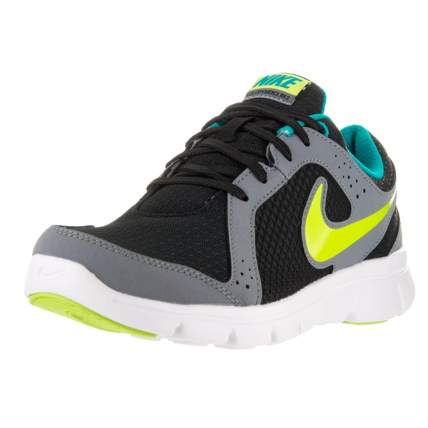 Nike Kids Flex Experience Black Plastic Running Shoe
