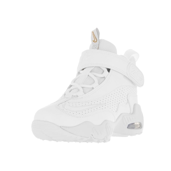 Nike Kids Air Griffey Max 1 White Leather Training Shoes