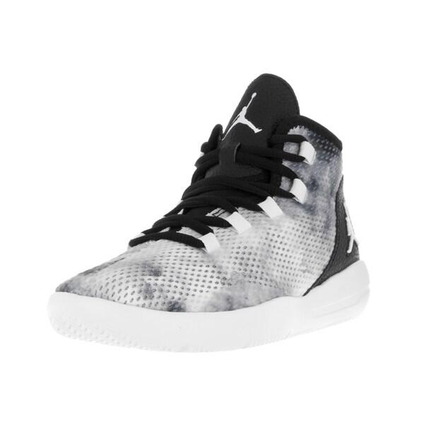 Nike Jordan Kids Jordan Reveal Premium Black/White/Infrared 23 Basketball Shoe