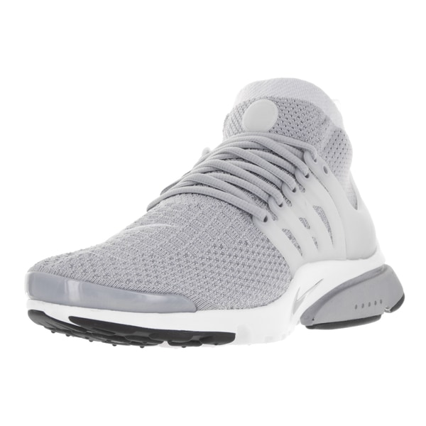 Nike Men's Air Presto Flyknit Ultra Wolf Grey/Pr Pltnm/White/Blk Running Shoe
