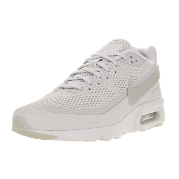 Nike Men's Air Max 90 Bw Ultra Br Pr Platinum/Pr Pltnm/Ttl Crmsn Running Shoe