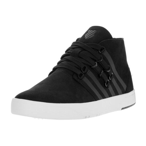 K-Swiss Men's D R Cinch Chukka Black/White Casual Shoe