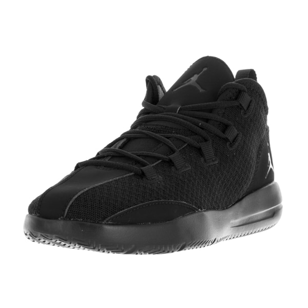Nike Jordan Kids' Jordan Reveal Black Plastic Basketball Shoes