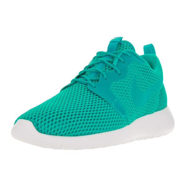 Nike Men's Roshe One Hyp Br Clear Jade/Clear Jade/White Running Shoe