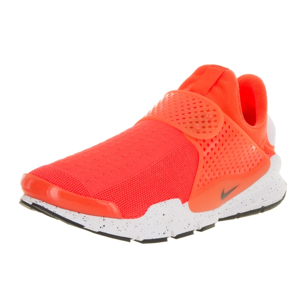 Nike Men's Sock Dart SE Total Crimson/Black/White Running Shoe