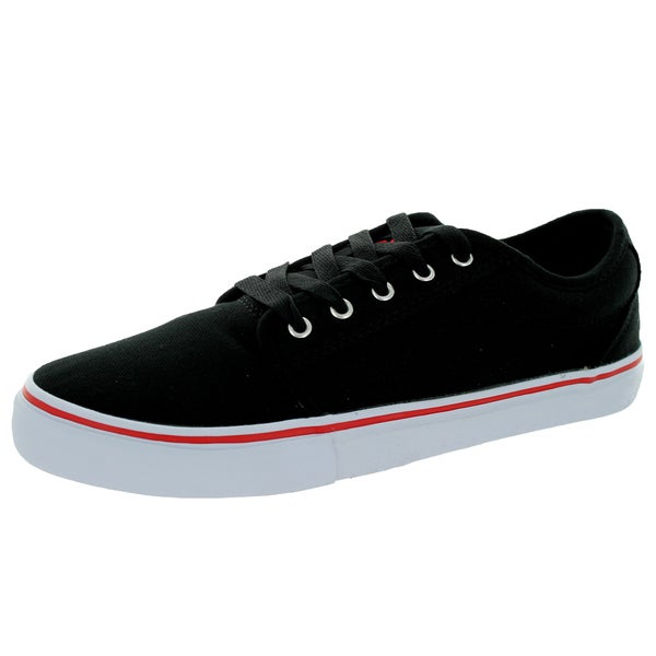 Adio Men's Melbourne Black/Red Skate Shoe