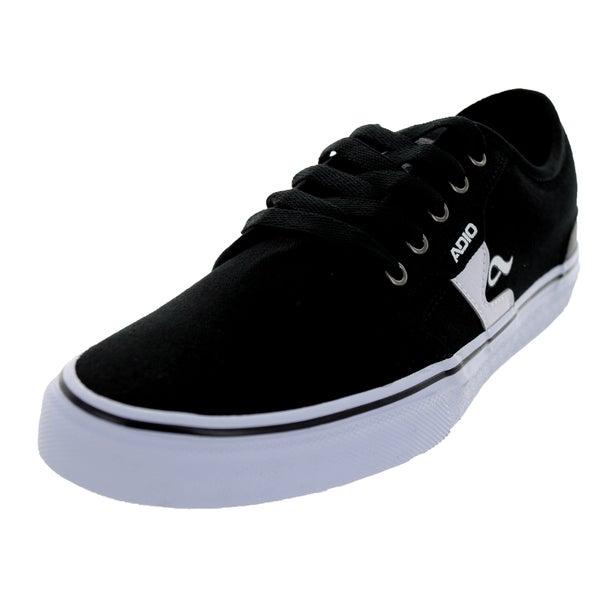 Adio Men's Kick Black/White Skate Shoe