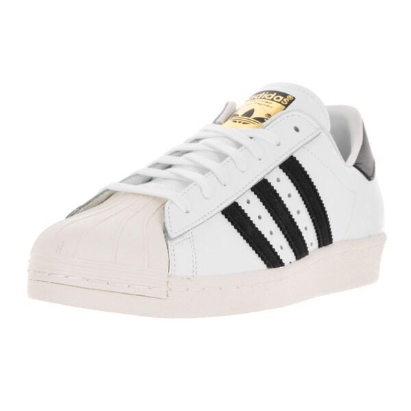 Adidas Men's Superstar 80s Originals Wht/Black1/Chalk2 Casual Shoe