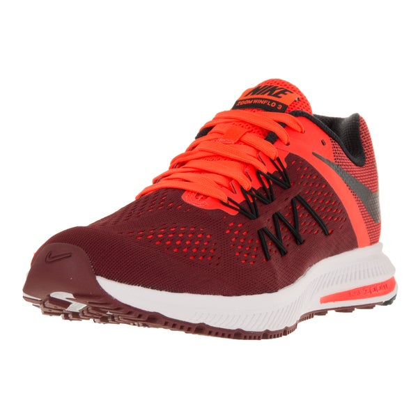 Nike Men's Zoom Winflo 3 Team Red/Black/Ttl Crimson/Wht Running Shoe