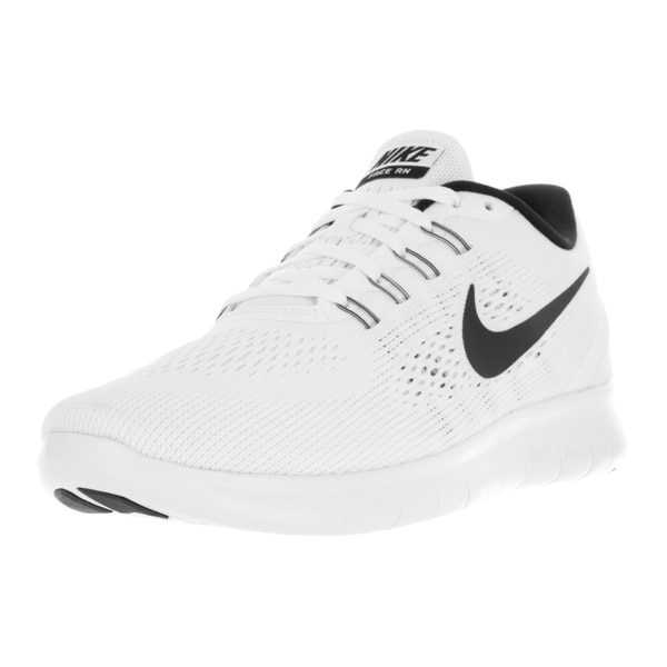 Nike Men's Free Rn White/Black Running Shoe