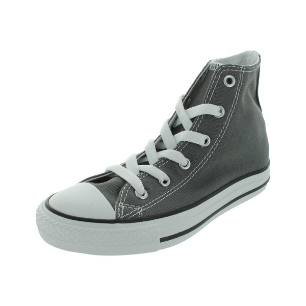 Converse Grey Canvas High-top Casual Shoes