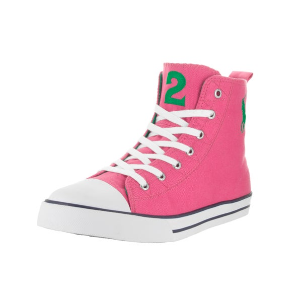 Polo Ralph Lauren Kids' Truro Hi Belmont Pink Casual Shoe