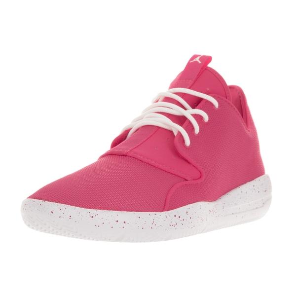 Nike Jordan Kids Jordan Eclipse GG Vivid Pink/White/White Running Shoes