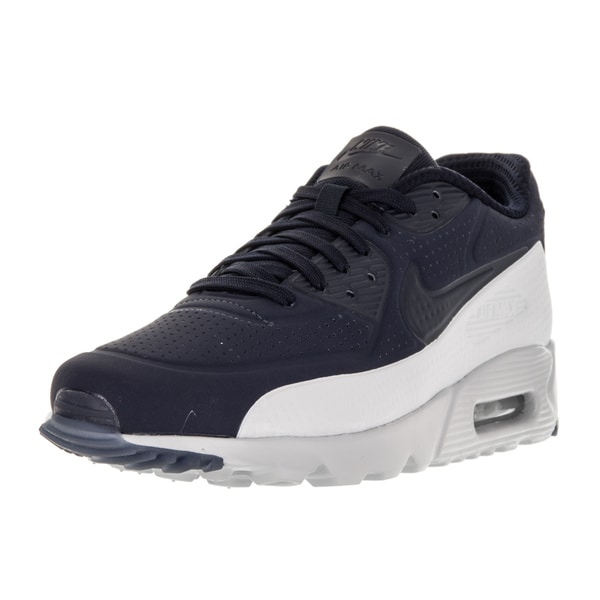 Nike Men's Air Max 90 Ultra Moire Obsidian/Obsidian/Pr Platinum Running Shoe