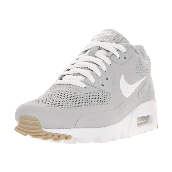Nike Men's Air Max 90 Ultra Essential Wolf Grey/White/Wolf Grey Running Shoe
