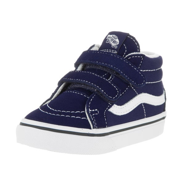 Vans Toddlers Sk8-Mid Reissue V Patriot Blue/True White Skate Shoe