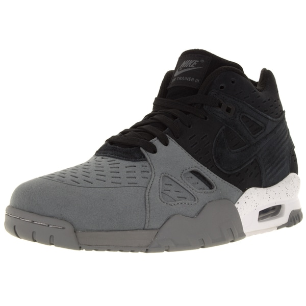Nike Men's Air Trainer 3 Le Black/Black/Cool Grey/White Training Shoe (Size 7)