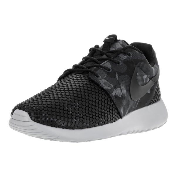 Nike Men's Roshe One Prem Plus Black/Black/Anthracite/Wlf Gry Running Shoe (Size 13)