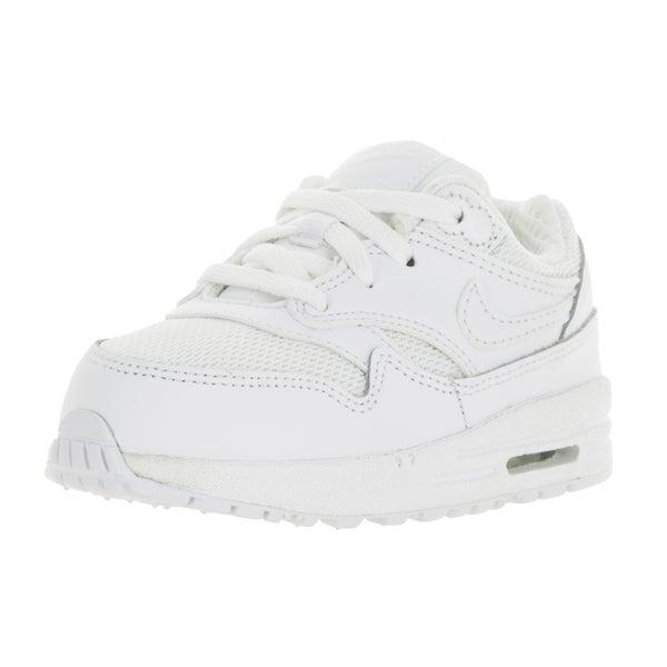 Nike Toddlers Air Max 1 White/White Running Shoe