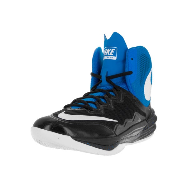 Nike Men's Prime Hype DF II Black/White/Photo Blue/Bl Lgn Basketball Shoe