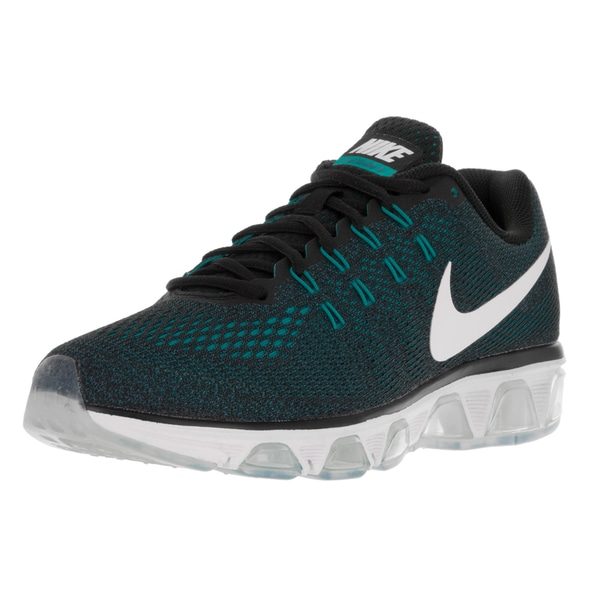Nike Men's Air Max Tailwind 8 Black/White/Ocean Fog/Gmm Blue Running Shoe (Size 9)