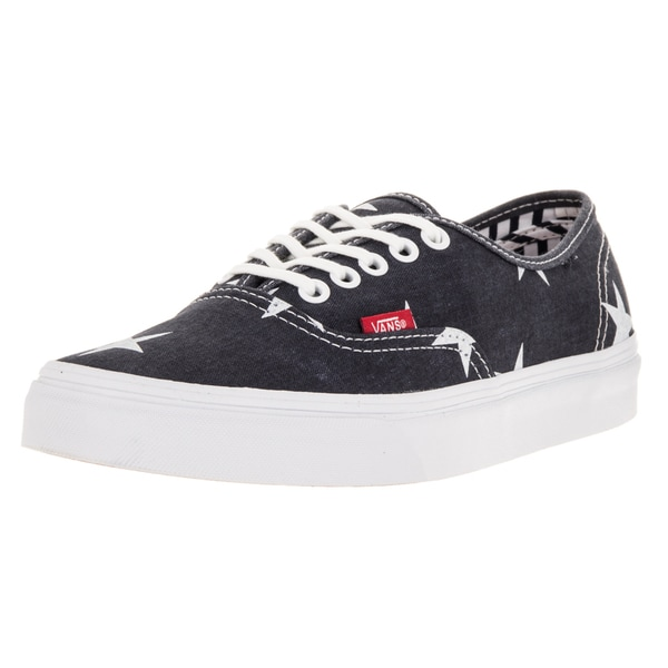 Vans Unisex Authentic (Star and Stripes) True White Skate Shoe