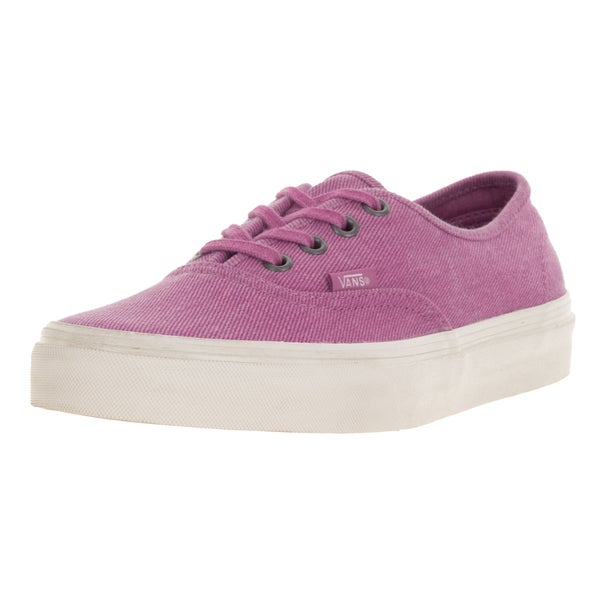 Vans Unisex Authentic (Overwashed) Radiant Orchid Skate Shoe