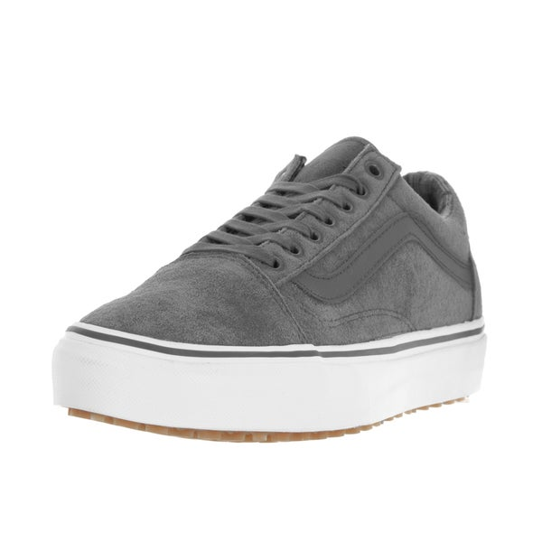 Vans Unisex Old Skool MTE Pewter/Plaid Skate Shoe