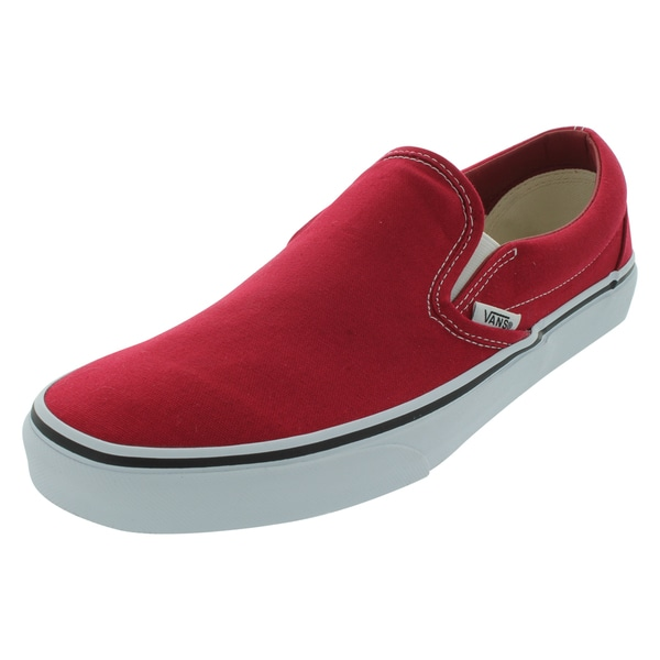 Vans Canvas Chili Pepper Classic Slip-On