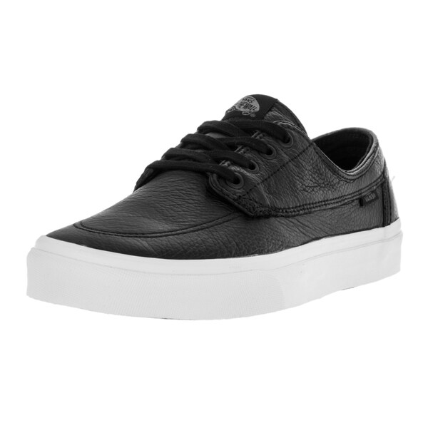 Vans Unisex Brigata (Premium Lthr) Blk/Tr Wht Skate Shoe