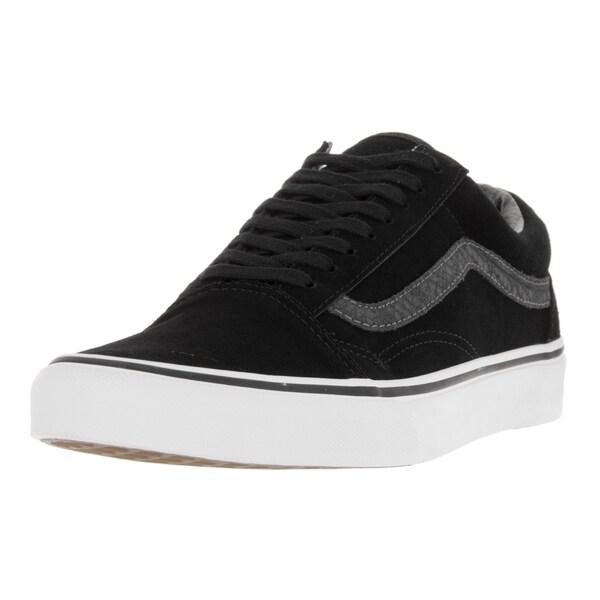 Vans Unisex Old Skool (Reptile) Black/Torando Skate Shoe