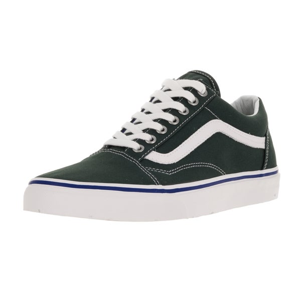 Vans Unisex Old Skool Green Gables/True White Skate Shoe