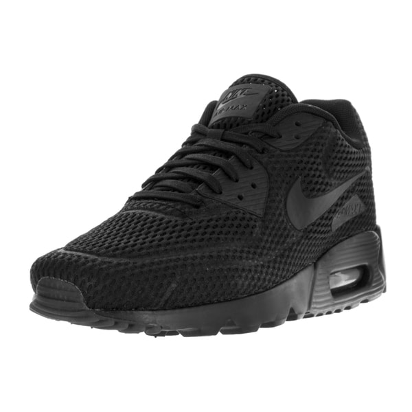Nike Men's Air Max 90 Ultra BR Black/Black Black Ttl Crimson Running Shoe