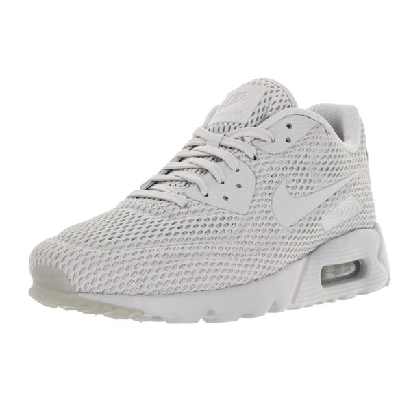 Nike Men's Air Max 90 Ultra Br Pr Platinum/Pr Pltnm/Pr Pltnm Running Shoe