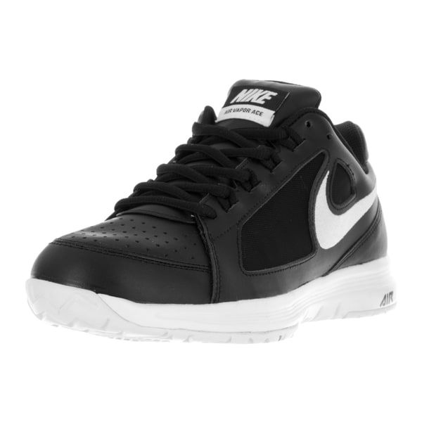 Nike Men's Air Vapor Ace Black/White/White Tennis Shoe