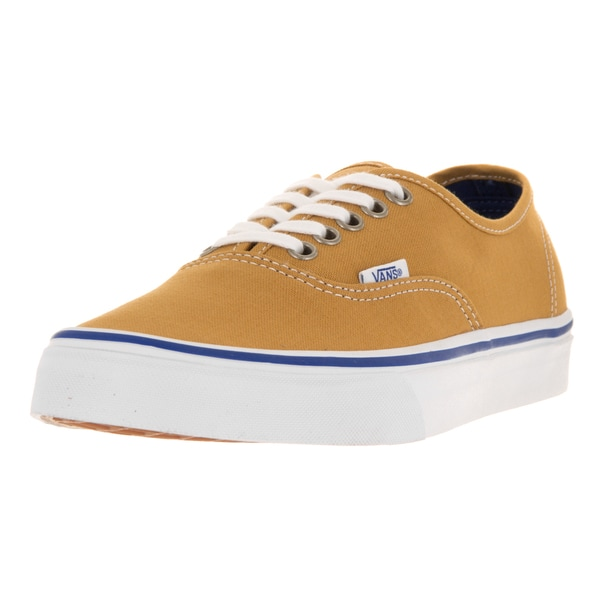 Vans Unisex Authentic Amber Gold Skate Shoe