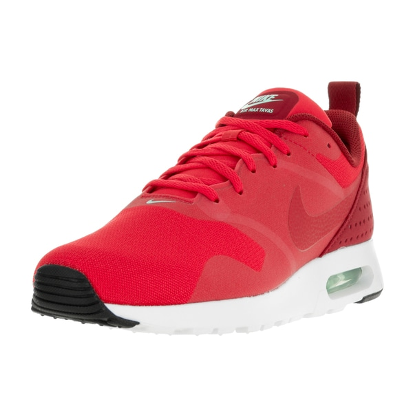 Nike Men's Air Max Tavas Action Red/Avtion Red/Gym Rd/Wht Running Shoe