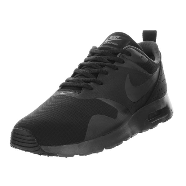 Nike Men's Air Max Tavas Black/Anthracite/Black Running Shoe (Size 10)