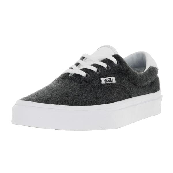Vans Unisex Era 59 (Varsity) Charcoal/True W Skate Shoe