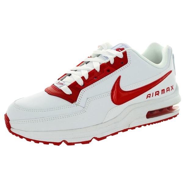 Nike Men's Air Max LTD 3 White/University Red Running Shoe