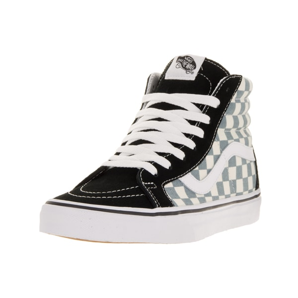 Vans Unisex Sk8-Hi Reissue (Checkerboard) Black/Citadel Skate Shoe
