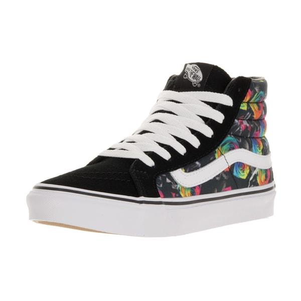 Vans Unisex Sk8-Hi Slim Rainbow Floral/Black/Tr Skate Shoe