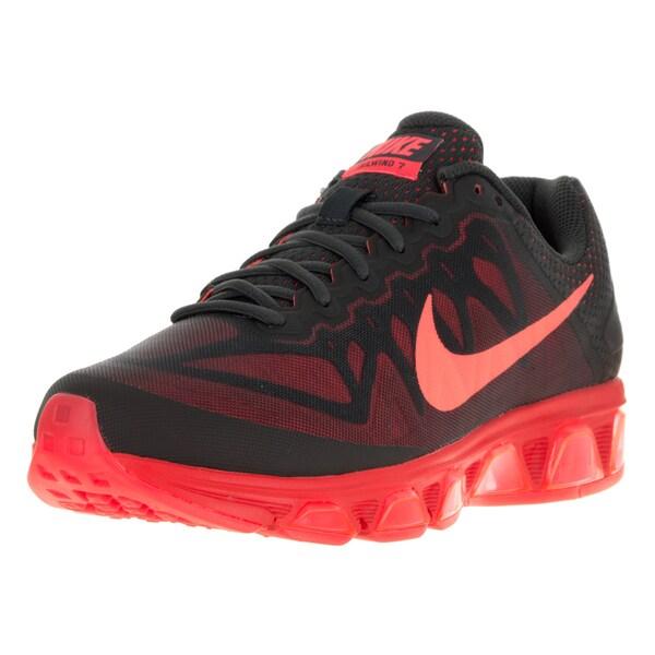 Nike Men's Air Max Tailwind 7 Black Fabric Running Shoe