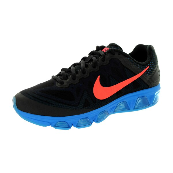 Nike Men's 'Air Max Tailwind 7' Black, Hot Lava, Photo Blue, Gamma Royal Fabric Size 9 Running Shoes