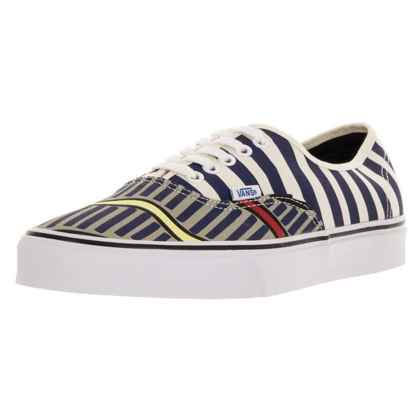 Vans Unisex Eley Kishimoto Bumpy Road White Canvas Skate Shoes