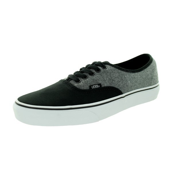 Vans Unisex Authentic C&C Black/Pewter Canvas Skate Shoes