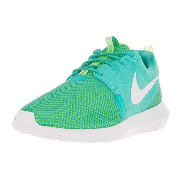 Nike Men's Rosherun Nm Br Lt Retro/White/Volt Running Shoe