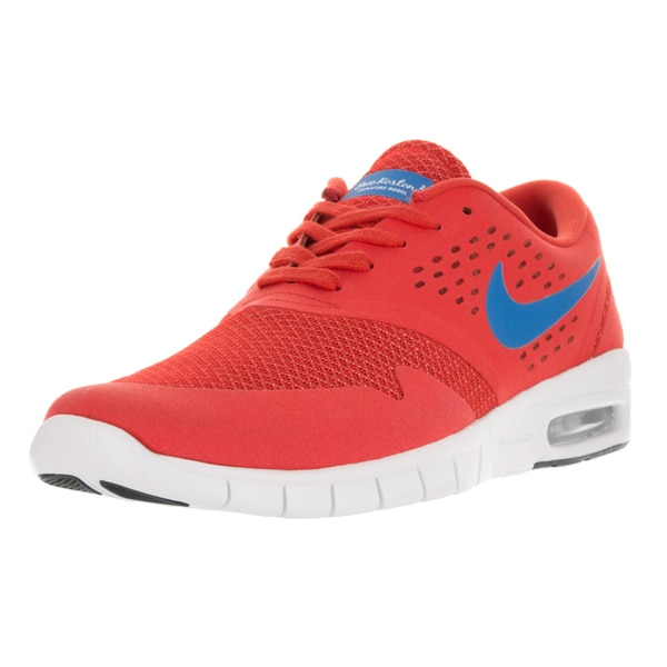 Nike Men's Eric Koston 2 Max Light Crimson and Photo Blue Fabric Running Shoes