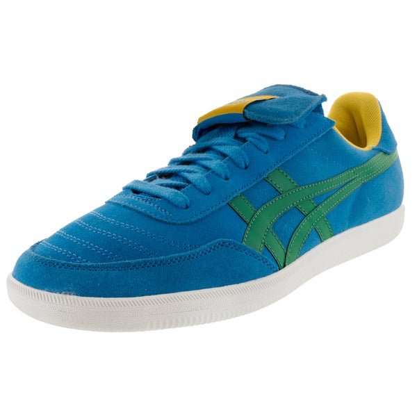 Onitsuka Tiger Unisex Hulse Mid Blue/Green Suede Casual Shoe